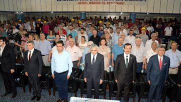 Demir Çelik Paneli Zonguldak'ta Gerçekleştirildi